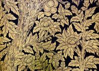 Ancient Thai floral painting