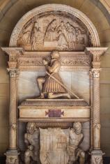 tomb in montserrat