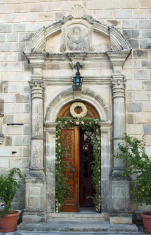 gateway to monastery