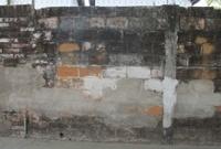 Distressed urban wall