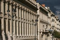 European street facade