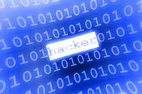 blue hacker illustration