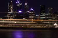 sydney city at night
