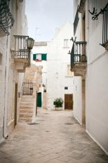 Street scene in Puglia, Southern Italy