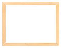 modern narrow light wood picture frame