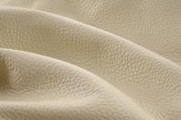 Beige Italian leather