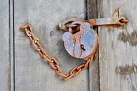 Antique Lock and Hasp
