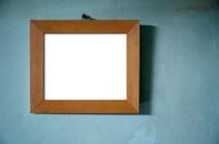 Brown Wood Photo Frame