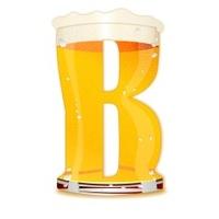 BEER ALPHABET letter B