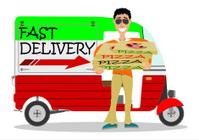 Pizza delivering