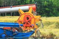 Modern combine harvester