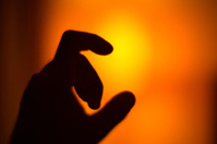 Hand Holding Light