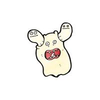 spooky cartoon ghost