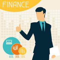 Finance infographics.
