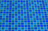 Pool ceramic tiles
