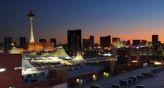 Warm Las Vegas Sunset over the Strip