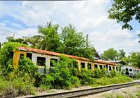 Old abandoned train