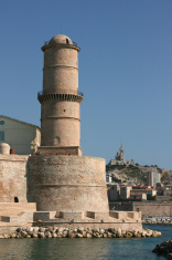 Fort Saint-Jean in Marseille, France.