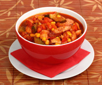 Vegetable Stew with Sausage