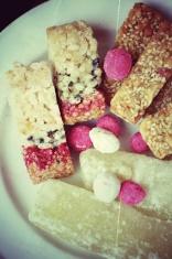 sugar bar with sesame