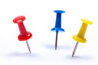 Multicolor Thumbtacks