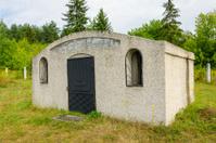 Brody, Ukraine - new Jewish cemetery, ohel