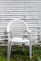 Chair and Grungy Paint