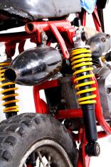 moto rear view