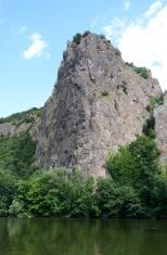 Rheingrafenstein, a rock in Germany