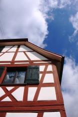 half-timber house