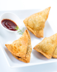 South Indian snacks samosa