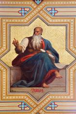 Vienna - Fresco of Amos prophet