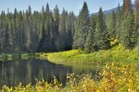 Silent lake.
