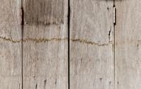 Very old rusty hardwood door