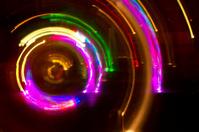 Defocused fairy lights