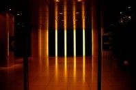 Office or Lobby Night Entrance
