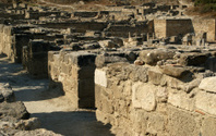 Ancient ruins of Kamiros, Rhodes - Greece