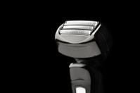 electric razor on black
