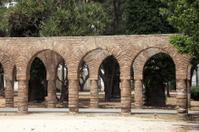 Ancient archway in Casablanca, Morocco