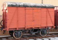 Railway Goods Wagon.