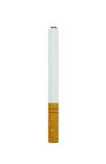 Cigarette on white background