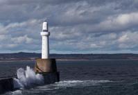Aberdeen dock lighthouse