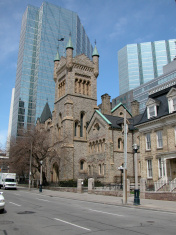 Old and new in Toronto