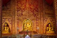 Buddhasihink in Wat Phra Singh, Chiangmai