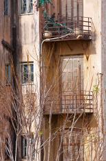 Slums in Athens