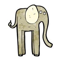 funny cartoon elephant