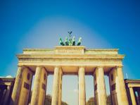 Retro look Brandenburger Tor, Berlin