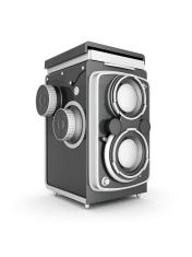 Vintage digital camera