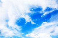 Blue bright sky