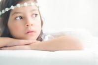 Young girl angel
